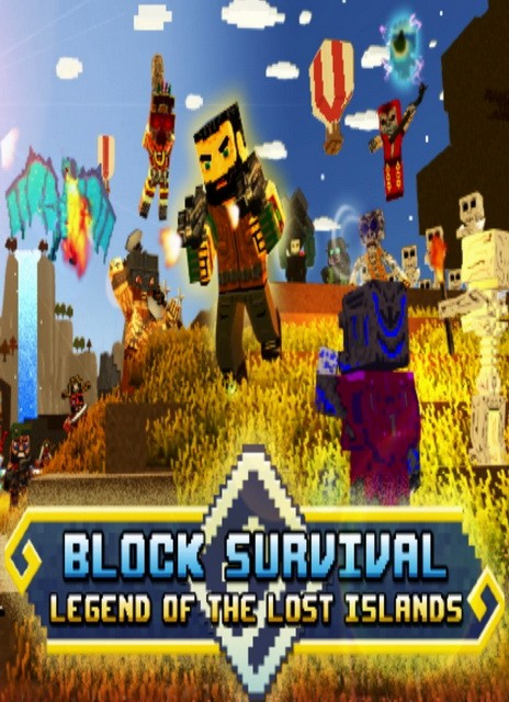 Block Survival: Legend of the Lost Islands cracked plaza