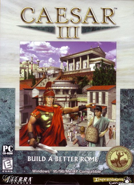 CAESAR 3 cover GOG PC