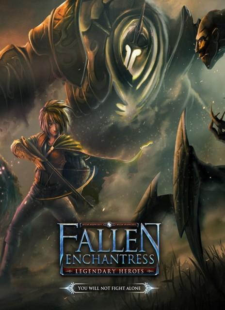 Fallen Enchantress Legendary Heroes game cover pc 2017