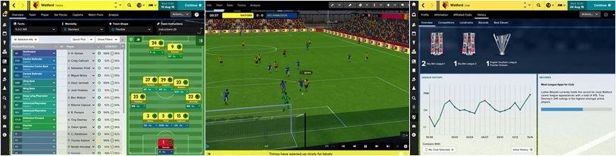 Football Manager Touch 2017 cracked complete game