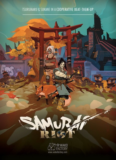 samurai riot pc cover 2017 complete full game